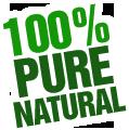 100% Pure Natural